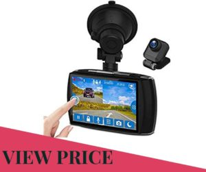 Z-Edge Dash Cam Front and Rear For Trucker